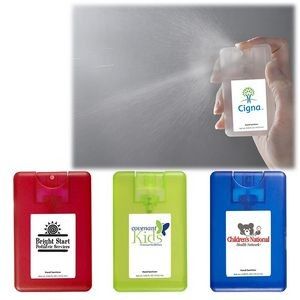 Credit Card Sanitizer Spray - 0.67 Oz.