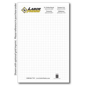 "8 3/8"" x 5 3/8"" 50-Sheet Notepad"
